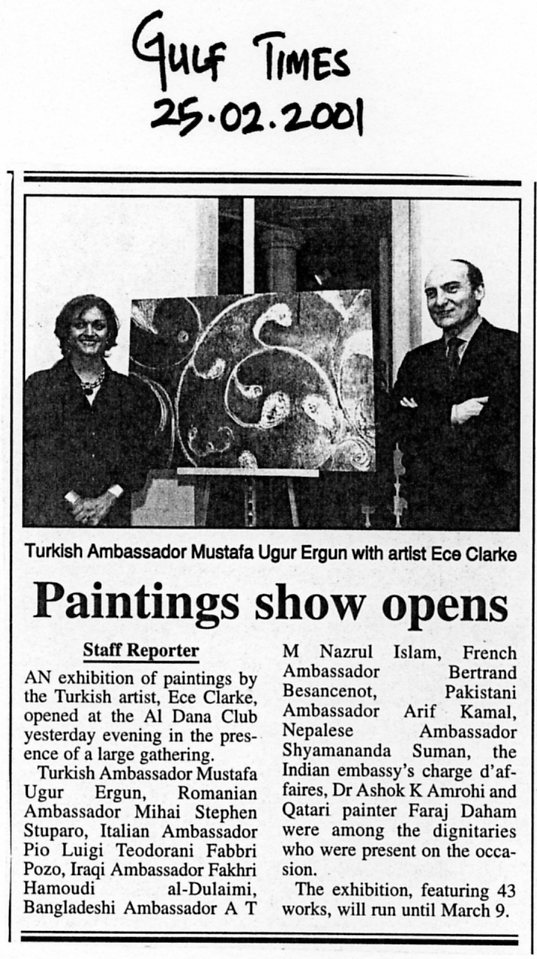 """Painting show opens"""