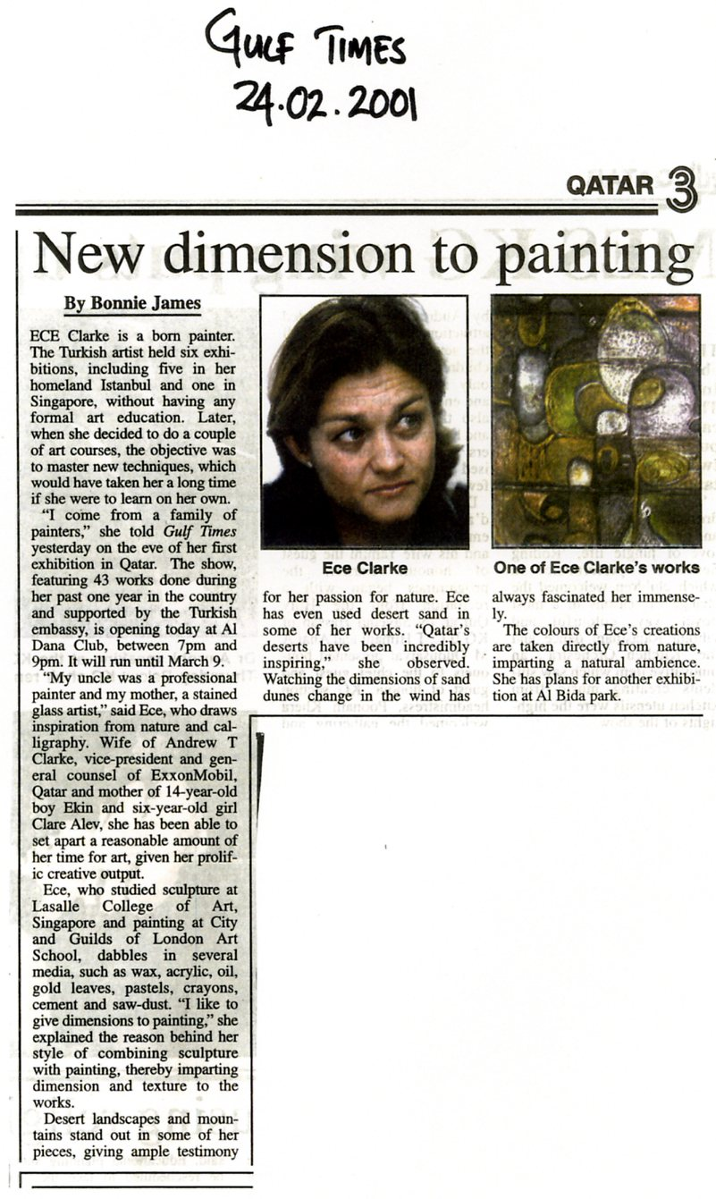"""New dimension to painting"""